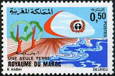 YT 641   MAROC Timbre Neuf ** TTB  UNE SEULE TERRE  1972