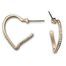 Swarovski Now Heart  Pierced Earrings New  1080285