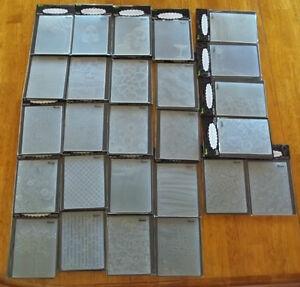 Darice universal embossing folders. Many to choose from. NIP