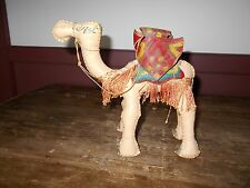 VINTAGE 1960'S - 70'S STUFFED LEATHER CAMEL