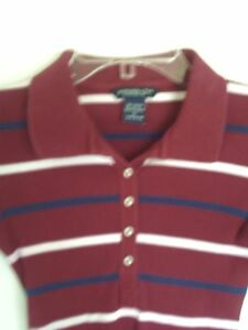 WOMEN ABERCROMBIE & FITCH STRIPED LONG SLEEVE KNIT  TOP SHIRT  JUNIOR SIZE  S