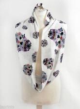 Écharpes et châles à motif Floral en mousseline pour femme