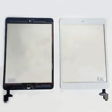 Para Ipad Mini 1 y 2 Pantalla de Cristal Táctil Ic Chip A1432 A1454 A1455 Blanco