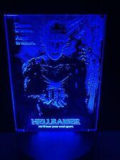 Hellraiser Light Up Mini Poster By Chainsaw Graphics Myers Pinhead Jason Acrylic
