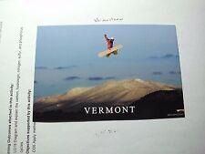 Vermont Green Mountains ski Lodge resort Jump sport Snowboard Aerial Trick WOW a