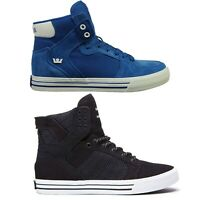 Men's Supra Vaider Lace Up Casual Sports Hi Top Trainers Footwear New Seasons
