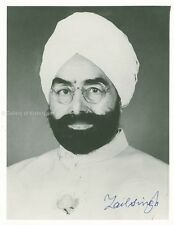 GIANI ZAIL SINGH (INDIA) - PHOTOGRAPH SIGNED
