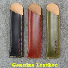 6 inches Genuine Pen Leather Sheath Cover Knife Kubaton Leather Sheath