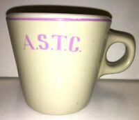 Mug Cup Restaurant Ware ASTC Arkansas State Teachers College '25-'67 Sterling US