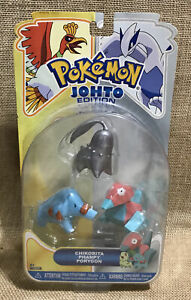 NIP Pokemon Johto Edition Figure Multi-Pack 3 Pack Chikorita Phanpy Porygon