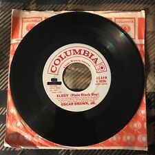 "OSCAR BROWN JR. ""Elegy / When Malindy Sings"" Promo Modern Jazz COLUMBIA EX"