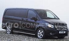 "Genuine Mercedes (447) 2015 Vito/V-Class ""17"" Alloy Wheels & Tyres Set (5-Spoke)"