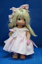 "Precious Moments 12"" Vinyl Doll Signed 4312 He Loves Me"