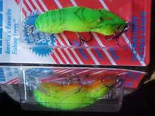 """Rebel 2"""" F7634 1/5oz Lite Wee-Crawfish Lure for Bass/Panfish/Trout/Pickerel"""