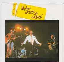 Live - Modern Lovers ( Line Music GmbH ‎– BECD 9.00483 O )