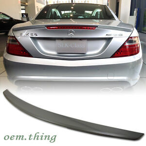 2019 Fit FOR MERCEDES BENZ R172 SLK SLC 2D A TYPE TRUNK BOOT SPOILER UNPAINTED