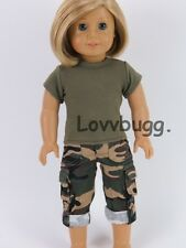 "Army Camo Pants Fatigues for 18"" American Girl Doll Widest  Selection! Lovvbugg"