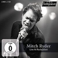 MITCH RYDER - LIVE AT ROCKPALAST 2 DVD+3 CD BOX SET NEU