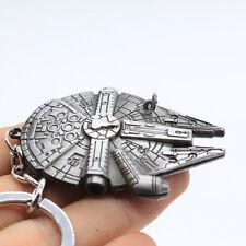 New Movie Star Wars Millennium Falcon 3D Metal Key ring Keychain Key Fob Gift