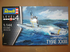 Revell Modellbausatz German Submarine Type XXIII 05140