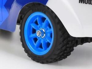 Tamiya 9335844 Escort Mk.II Rally (MF-01X) Blue Wheel Set (4PCS)