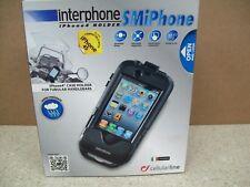 NOS Interphone Water Resistan Iphone 4/4S Case W/ Handlebar Mount SMIPHONE4
