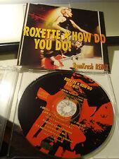 RAR MAXI CD. ROXETTE. HOW DO YOU DO. BOMKRASH REMIX. 4 TRACKS.