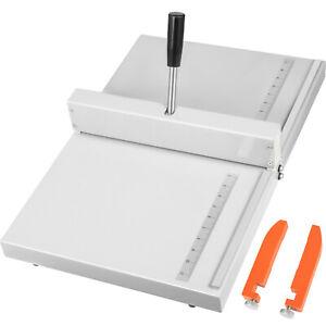 Desktop 14'' Manual Scoring Paper Creasing Machine Creaser Scorer Accurate Ruler