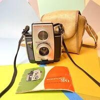 Vintage Kodak Brownie Reflex 20 Film Camera, Good  Usable Conditon Lomo