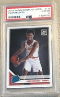 Cam Reddish 2019 Panini Donruss Optic #170 PSA 10 RC Rookie Card Hawks INVEST