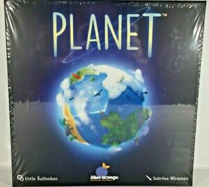 Planet Board Game Blue Orange Space Planet Earth Themed 2019 Sealed Family 3D