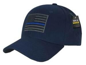 Rapid Dominance Embroid Thin Line USA Flag Baseball Cap Hat Color Choice T76
