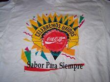 VINTAGE COKE COCA COLA T-Shirt - Men's Size XL - Celebremos Unidos