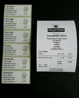 POST & GO EUROPHILEX MACHIN COLL/STRP MA13 FDI PENNY BLACK 175. .