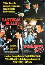 Crime Story German video movie poster A1 Las Vegas Bulle MCU Dennis Farina, Lang