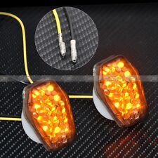 Custom Smoke LED Flush Mount Turn Signal Blinker Marker For Suzuki DL 650 GSXR