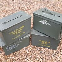 AMMO BOX 50 CAL Ammo Can Best Quality Storage Tins Ex Military Surplus