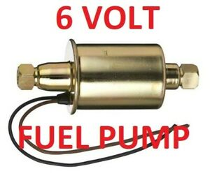 6 volt Fuel Pump Buick 1948 1949 1950 1951 1952 1953 -can be assist or primary
