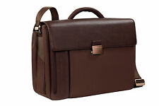 Piquadro PQ7 Brown Extra Large Office briefcase, w/ organized panel CA1621PQ/M