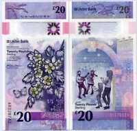 Northern Ireland 20 Pounds 2019 / 2020 Ulster P NEW Polymer UNC