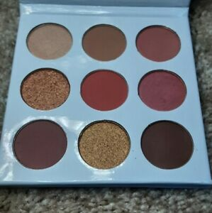 NEW Duped Cosmetics 9 Palette Eye Shadow The Burgundy Palette
