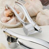 Stainless Steel Home Kitchen Mincer Tool Garlic Press Crusher Squeezer Masher BR