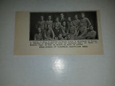 High School of Commerce Cleveland Ohio 1911 Football Picture