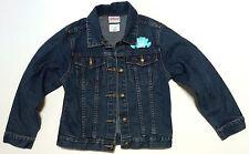 Girls' Disney Princess Ariel Blue Jean Denim Jacket Size S (5-6)