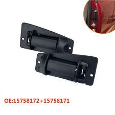 1Pair Rear Outside Door Handle 15758172 15758171 Fit for Chevrolet Silverado GMC