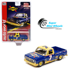 Auto World 1973 Chevrolet Cheyenne Sunoco Racing #7 - Mijo Exclusives - 1:64