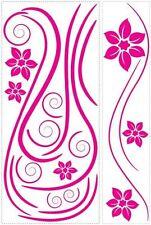 Hot Pink Swirl Mini Mural Appliques RMK1309GM