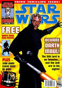 STAR WARS COMIC 1999 ISSUE #3