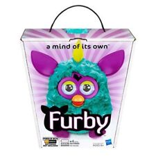 "Furby Boom 2012 5"" Interactive Electronic Toy APP Teal Purple Rare MISB"