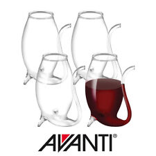 Avanti Glass Port Sippers 75ml Set of 4